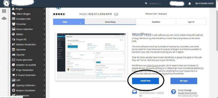 wordpress kurulum aşaması-3