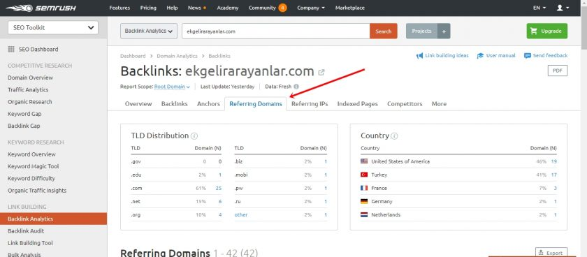 rakip site backlink analizi