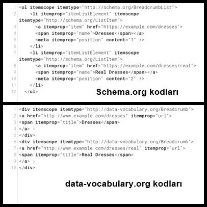 data-vocabulary hatası